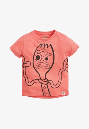 CORAL TOY STORY FORKY T-SHIRT (3MTHS-8YRS) - Printtipaita - pink