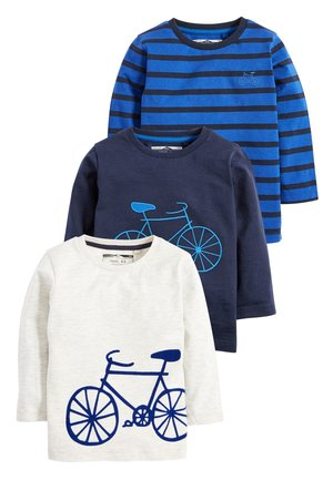 BLUE 3 PACK LONG SLEEVE BICYCLE T-SHIRTS (3MTHS-7YRS) - Langarmshirt - blue