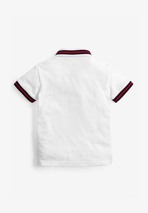 SHORT SLEEVE TIGER SASH POLO (3MTHS-7YRS) - Poloshirt - white