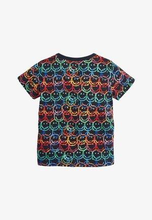 MULTI SHORT SLEEVE FACES T-SHIRT (3MTHS-7YRS) - T-shirt print - black