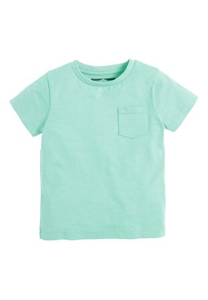 LIGHT GREEN SHORT SLEEVE T-SHIRT (3MTHS-7YRS) - Basic T-shirt - green
