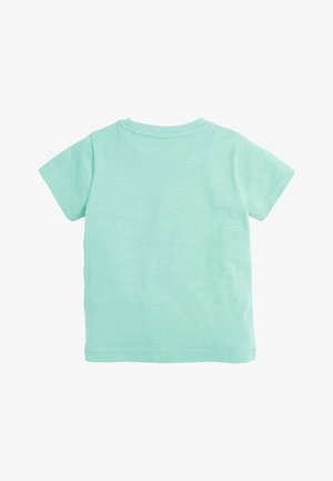 LIGHT GREEN SHORT SLEEVE T-SHIRT (3MTHS-7YRS) - Jednoduché triko - green