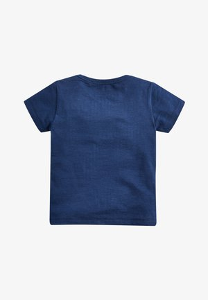 BLUE SHORT SLEEVE ROCKET POCKET T-SHIRT (3MTHS-7YRS) - Print T-shirt - blue