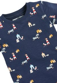 Next - NAVY SHORT SLEEVE SEASIDE T-SHIRT (3MTHS-7YRS) - Print T-shirt - blue - 2