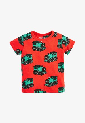 MULTI 3 PACK PRINTED TRANSPORTS T-SHIRTS (3MTHS-7YRS) - Triko s potiskem - green
