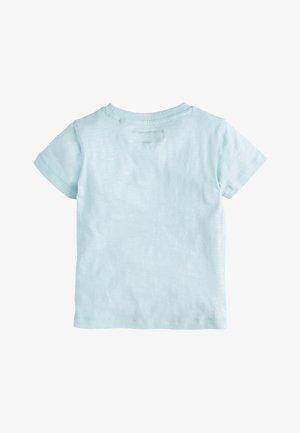 BLUE SHORT SLEEVE APPLIQUé SHARK T-SHIRT (3MTHS-7YRS) - Print T-shirt - blue
