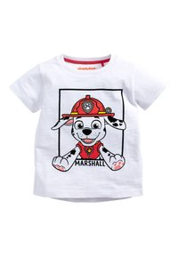 Next - BLUE AND WHITE 2 PACK PAW PATROL SHORT SLEEVE T-SHIRTS (6MTHS-8Y - T-shirt con stampa - blue - 3