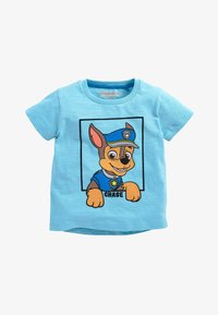 Next - BLUE AND WHITE 2 PACK PAW PATROL SHORT SLEEVE T-SHIRTS (6MTHS-8Y - T-shirt con stampa - blue - 1