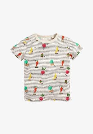 ECRU FRUIT STRIPE T-SHIRT (3MTHS-7YRS) - Print T-shirt - off-white