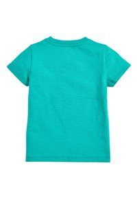 Next - TEAL SHORT SLEEVE AEROPLANE T-SHIRT (3MTHS-7YRS) - Print T-shirt - green - 1