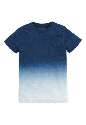 INDIGO DIP DYE  - Camiseta estampada - blue