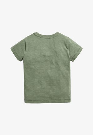 THE BOSS  - Print T-shirt - green