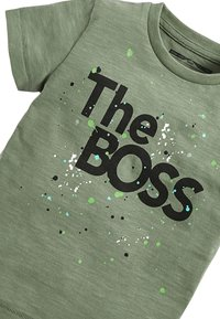 Next - THE BOSS  - Print T-shirt - green - 2