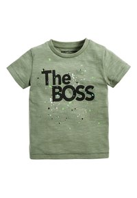 Next - THE BOSS  - Print T-shirt - green - 0