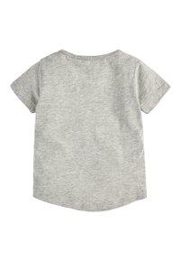 Next - GEO DINO - Print T-shirt - grey - 1