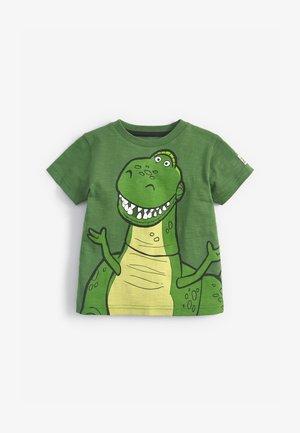 DISNEY TOY STORY REX SPIKES  - Print T-shirt - green