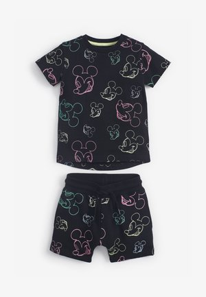 MICKEY MOUSE ALL OVER PRINT - Shorts - black