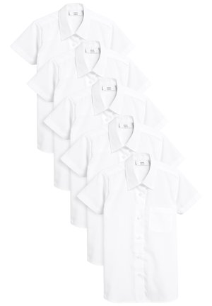 FIVE PACK - Button-down blouse - white