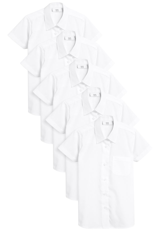 FIVE PACK - Camisa - white