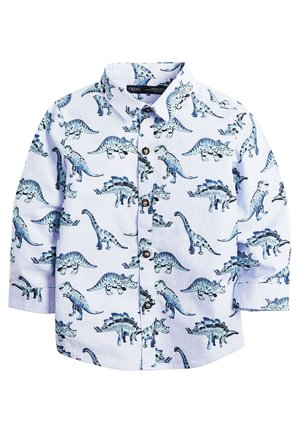 BLUE LONG SLEEVE DINO PRINT SHIRT (3MTHS-7YRS) - Skjorta - blue