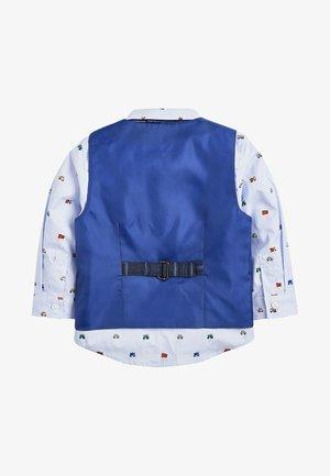 INDIGO CHECK WAISTCOAT SET (3MTHS-7YRS) - Waistcoat - blue