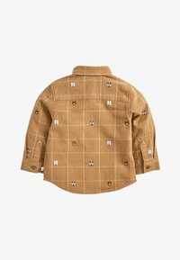 Next - TAN ANIMAL EMBROIDERY SHIRT (3MTHS-7YRS) - Overhemd - beige - 1