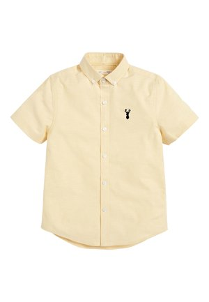 YELLOW SHORT SLEEVE OXFORD SHIRT (3-16YRS) - Skjorter - yellow