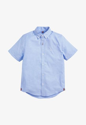 Shirt - mottled blue