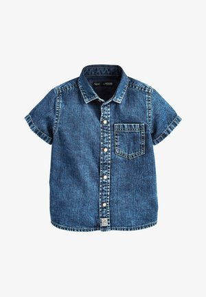 BLUE SHORT SLEEVE DENIM SHIRT (3MTHS-7YRS) - Koszula - blue
