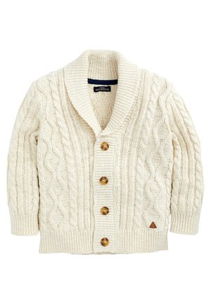 CABLE KNIT - Chaqueta de punto - off-white