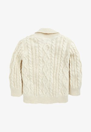 CABLE KNIT - Vest - off-white