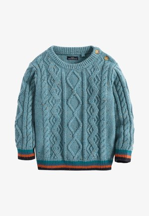 TEAL CABLE - Pullover - grey