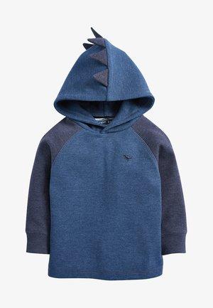 TEXTURED - Hoodie - blue