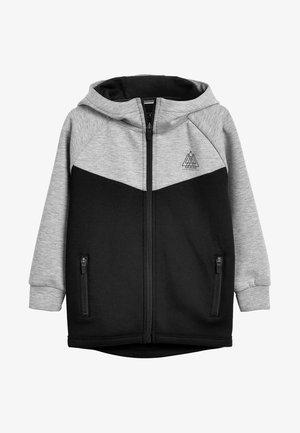 Zip-up hoodie - gray