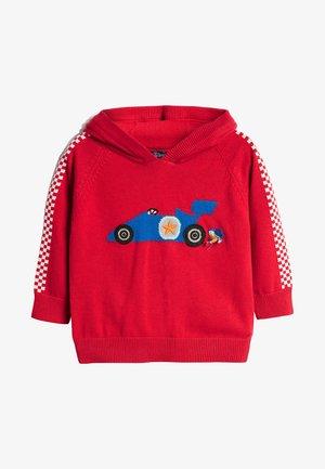 RED CAR  - Sweat à capuche - red