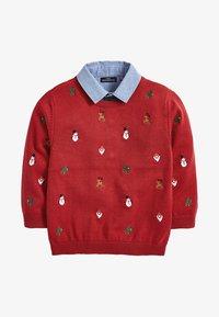 Next - CHRISTMAS - Trui - red - 0
