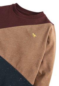 Next - PLUM LONG SLEEVE COLOURBLOCK T-SHIRT (3MTHS-7YRS) - Pullover - red - 2