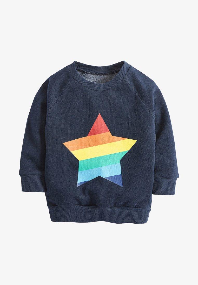 Next - RAINBOW STAR - Sweater - blue