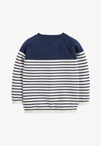 Next - NAVY/ECRU STRIPE JUMPER (3MTHS-7YRS) - Trui - blue - 1