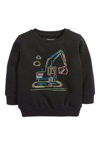 Next - BLACK FLURO DIGGER CREW TOP (3MTHS-7YRS) - Sweater - black - 0