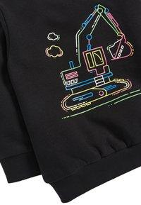 Next - BLACK FLURO DIGGER CREW TOP (3MTHS-7YRS) - Sweater - black - 2