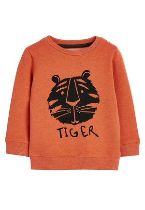 ORANGE TIGER CREW (3MTHS-7YRS) - Pullover - orange