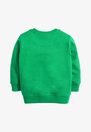 GREEN DINO POCKET CREW NECK SWEATER (3MTHS-7YRS) - Pullover - green