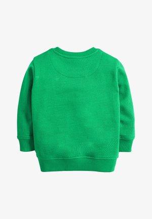 GREEN DINO POCKET CREW NECK SWEATER (3MTHS-7YRS) - Trui - green