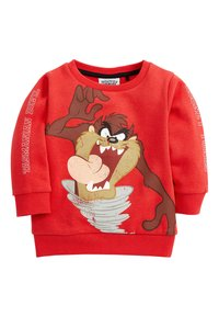 Next - RED TAZ THE TASMANIAN DEVIL CREW TOP (3MTHS-8YRS) - Trui - red - 0