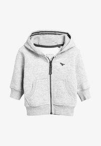 Next - ESSENTIAL - veste en sweat zippée - grey - 0