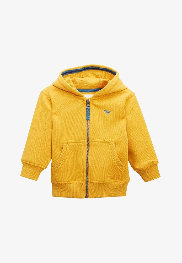Next - ESSENTIAL - Zip-up hoodie - yellow