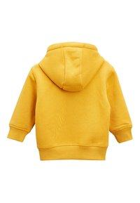 Next - ESSENTIAL - Hoodie met rits - yellow - 1