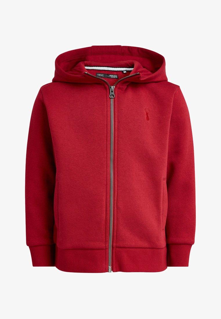 Next - NEXT - Zip-up hoodie - red
