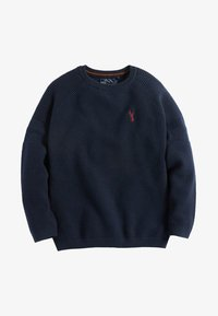 Next - TEXTURED - Pullover - navy - 0